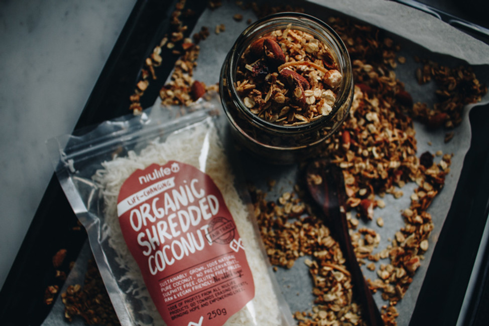 Toasted Coconutty Granola