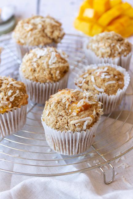 Coconut Mango Muffins