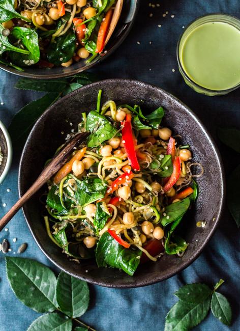 Asian Style Kelp Noodle Salad