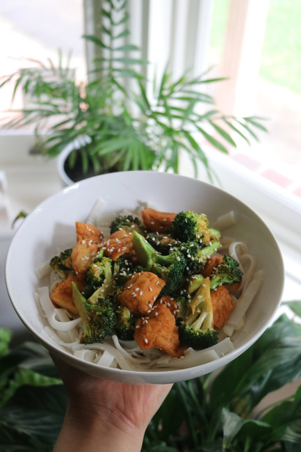 Easy Tofu & Broccoli Stir-Fry