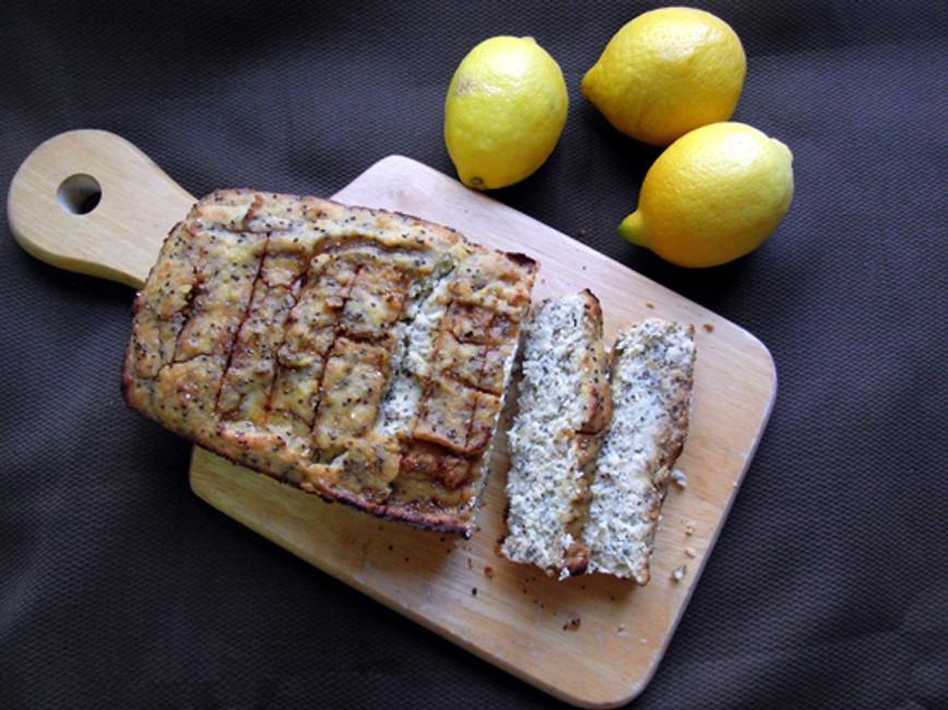 Chia and Lemon Gluten Free Cake