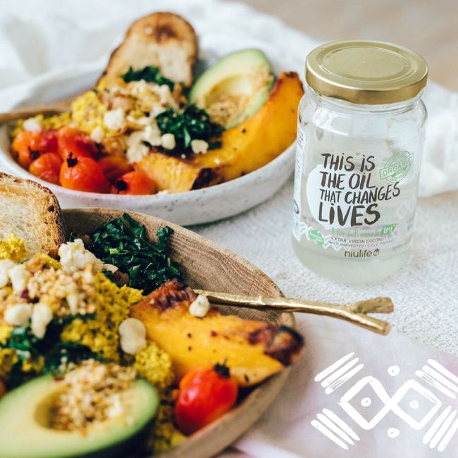 Vegan Tofu Scramble by Elsa's Wholesome Life