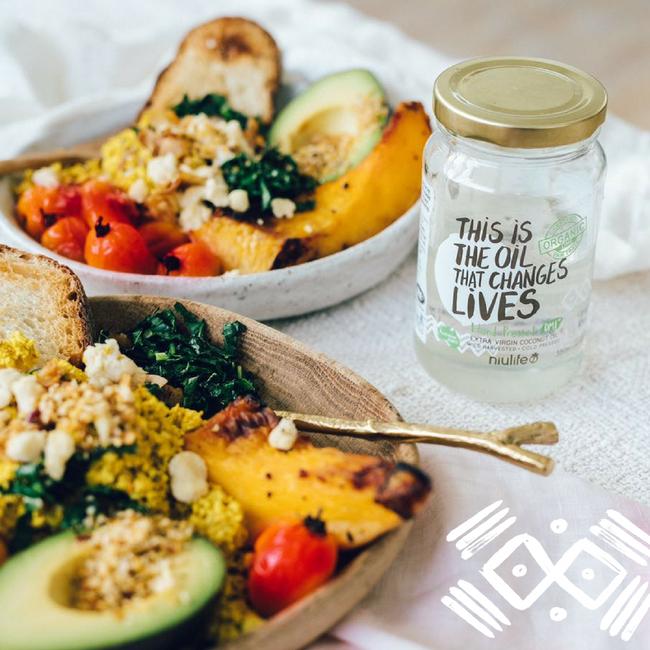 Vegan Tofu Scramble by Elsa's Wholesome Life