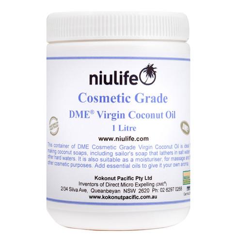 Cosmetic Grade - Virgin Coconut Oil  - 1L Jar