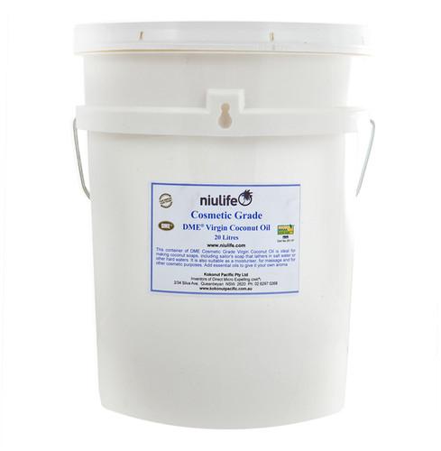Certified Organic Cosmetic Grade Virgin Coconut Oil - 20L Pail