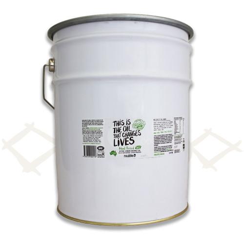 Virgin Coconut Oil - 20L Metal Pail (Bulk)