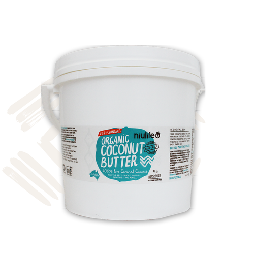 Organic Coconut Butter - Creamed Coconut - 4Kg