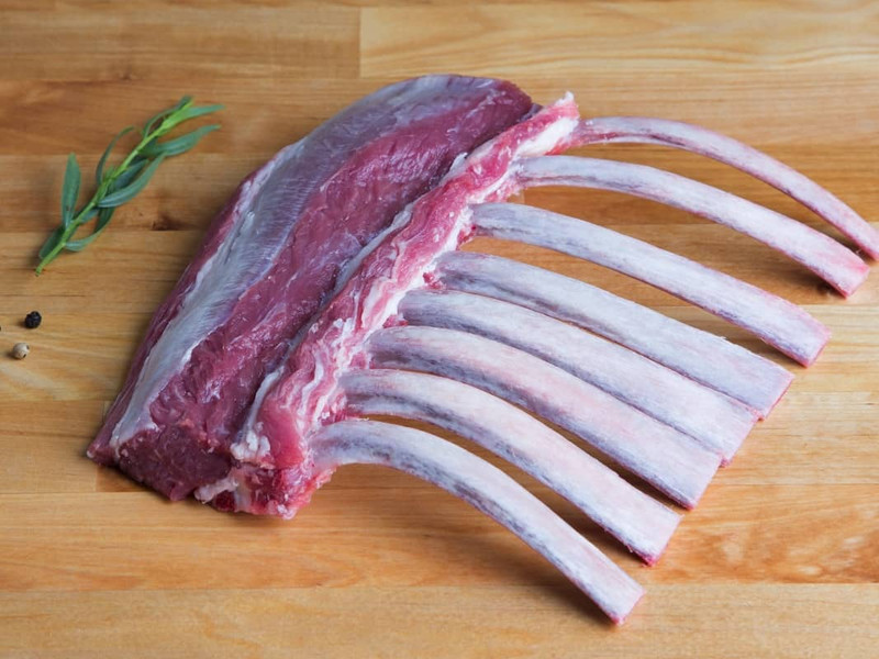 Butcher's Cut Rack of Lamb (Frenched)