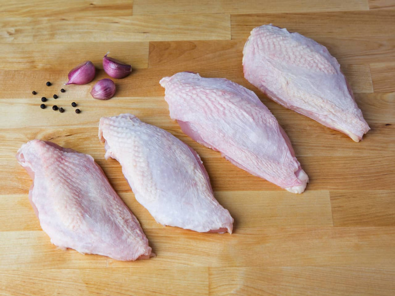 Skin-On Chicken Breast Filets