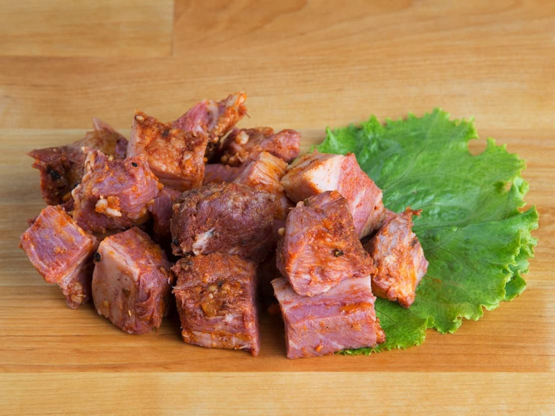 Beef Bacon Cubes