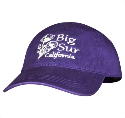 Baseball Cap • Poppies - Purple