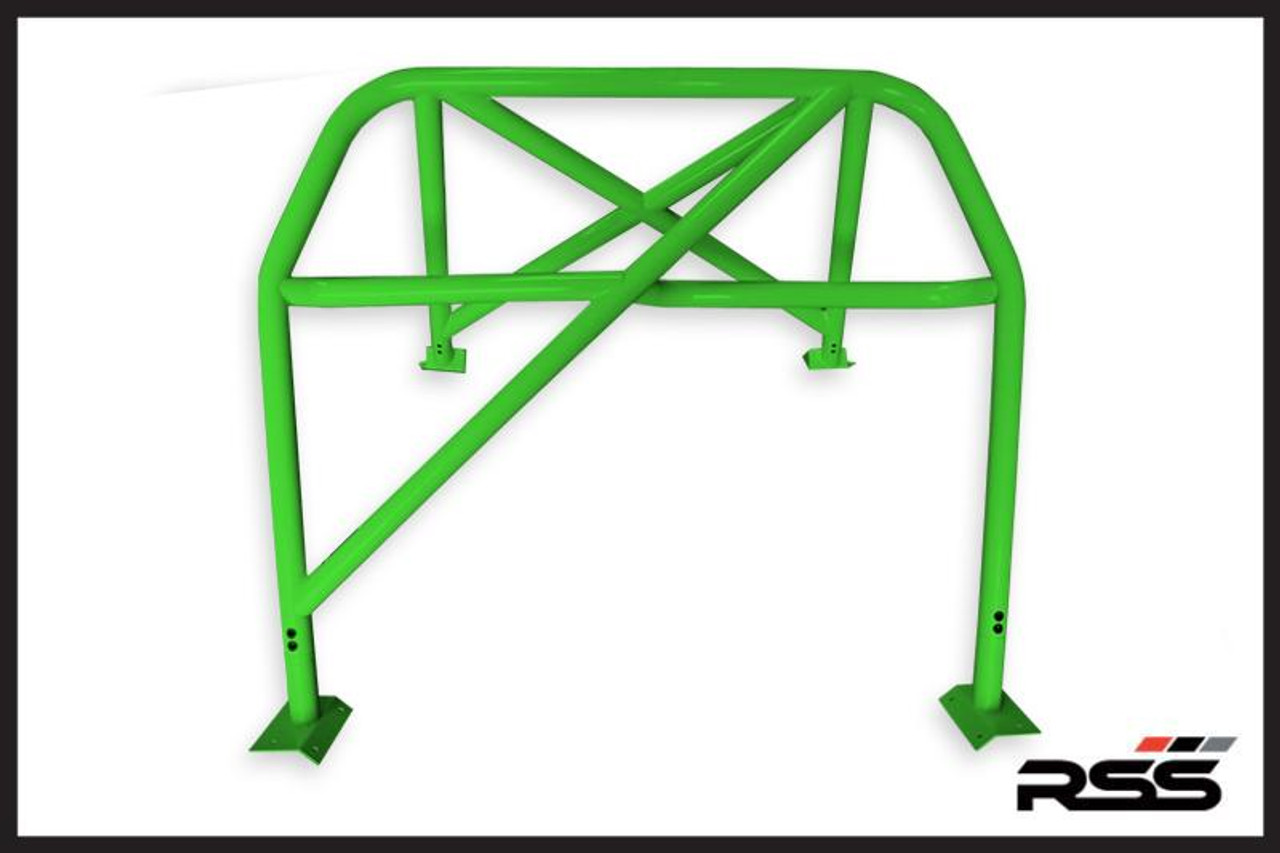 """• The RSS 931 Series Fits Most 996 & 997 MK1 & MK2 Models Including GT3 & GT3 RS • 1.75"""" CHROMOLY Tubing, .120 wall, 68 lbs including all hardware (931 Bar is Built To Order) • Very Robust X-Brace Design • Bolts Through Chassis Near B Pillar with Underplates Provided & to Rear Shock Towers • Tig Welded • Flawless Fit To Interior Profile • Retains Full Function of Most Seats • Offers Safety, Harness Connection & Motorsport Functionality • Available in Standard Black (30), White (32), or Raw (00) (unfinished - ready for paint match) • Bolt-In Installation – Minor Drilling Required • Handmade on Location in Southern California, USA • Tight fit In Vehicles with Sunroof • Please Enter Color Choice in Comments Section in Shopping Cart Note: Modifications Need to Be Made On Models with Bose® Rear Subwoofer. Note: Rollbar Ships On A pallet, Typical shipping cost is between $200-$300 in Continental USA. We Will Contact You with Final Shipping Quote."""