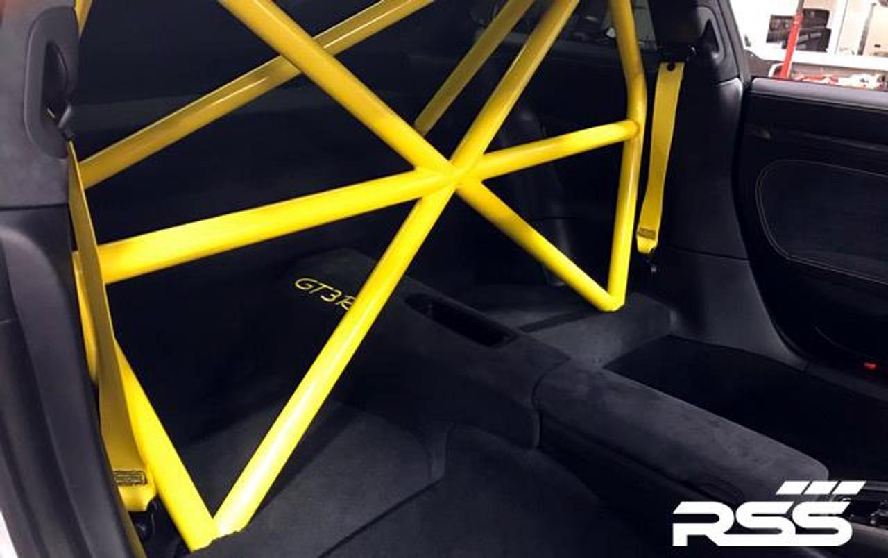 940/00 XC Series 4pt. Roll Bar 991 GT3 / RS. Finish: Raw Steel