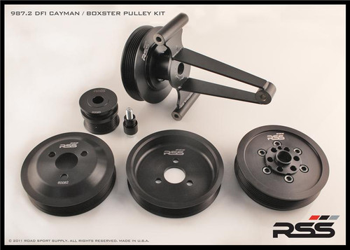 623 RSS Motorsport Pulley Kit - AC/Delete - DFI Engine