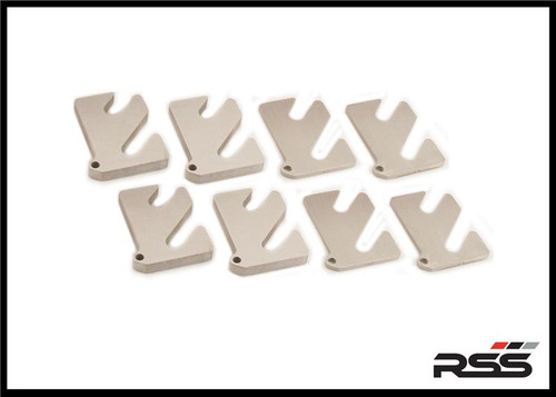 Size 7mm (Qty: 1) RSS Alignment Shim for 2-Piece Control Arms Available for ALL Late Model Porsche® Automobiles Running Motorsport Style 2-piece Lower Control Arms Made in USA at RSS