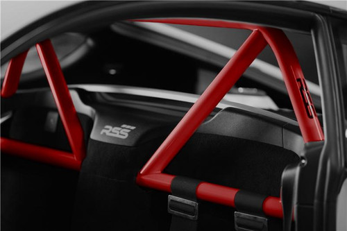 951/34 Hybrid 2pt. Harness Bar (981/GT4/718) Finish: Red