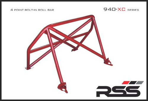 940/34 XC Series 4pt. Roll Bar 991 GT3 / RS. Finish: Red