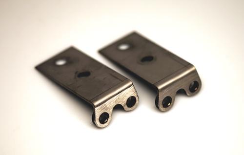 #389 Torque Vector/Litronic Sensor Bracket Set (Front XL Inner Monoball #3-307). Adapts the XL Inner Monoballs for use with OEM Torque Vectoring/Litronic System Sensors.