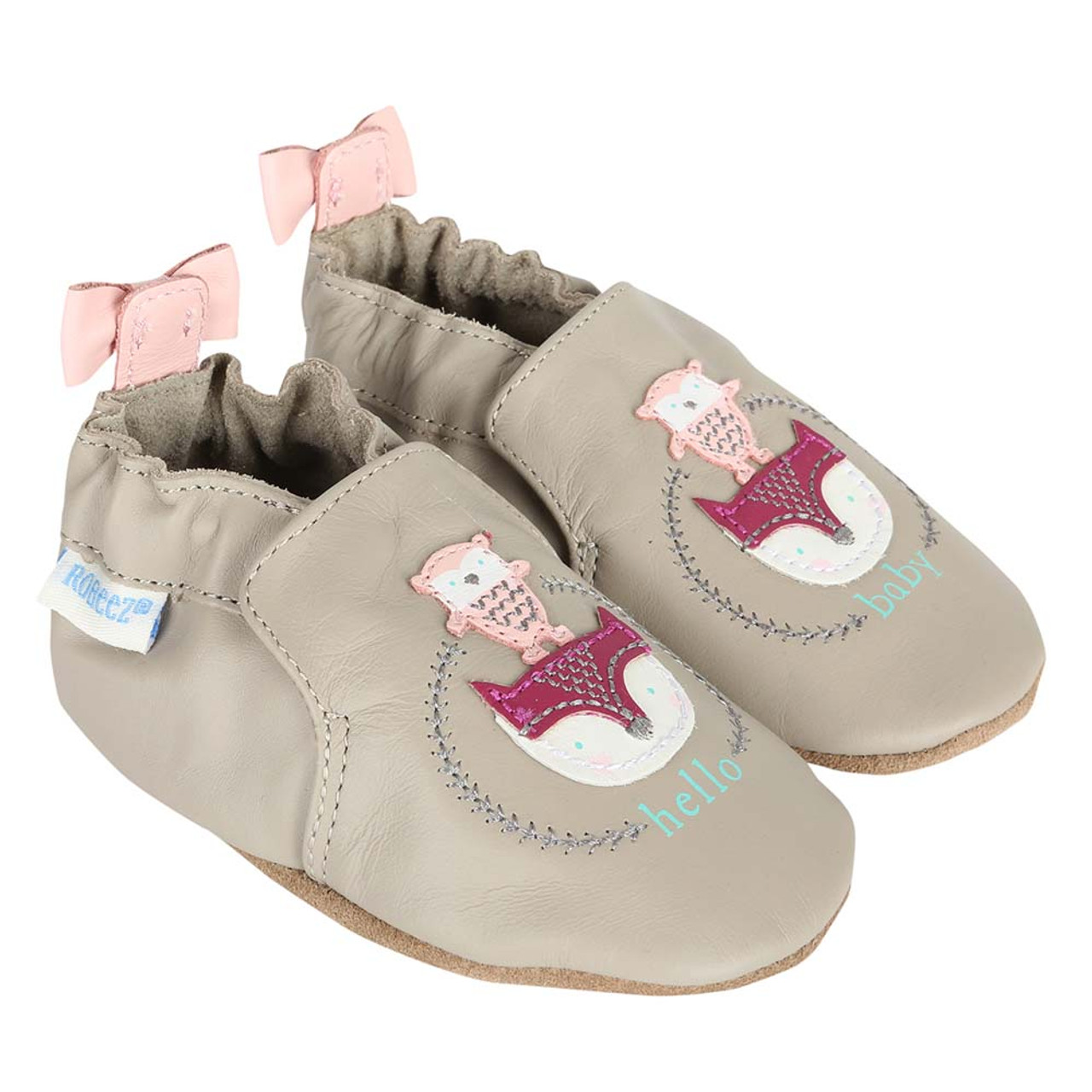 Baby Shoes Hello Baby Friends Soft Soles Girls Ages 0 24 Months