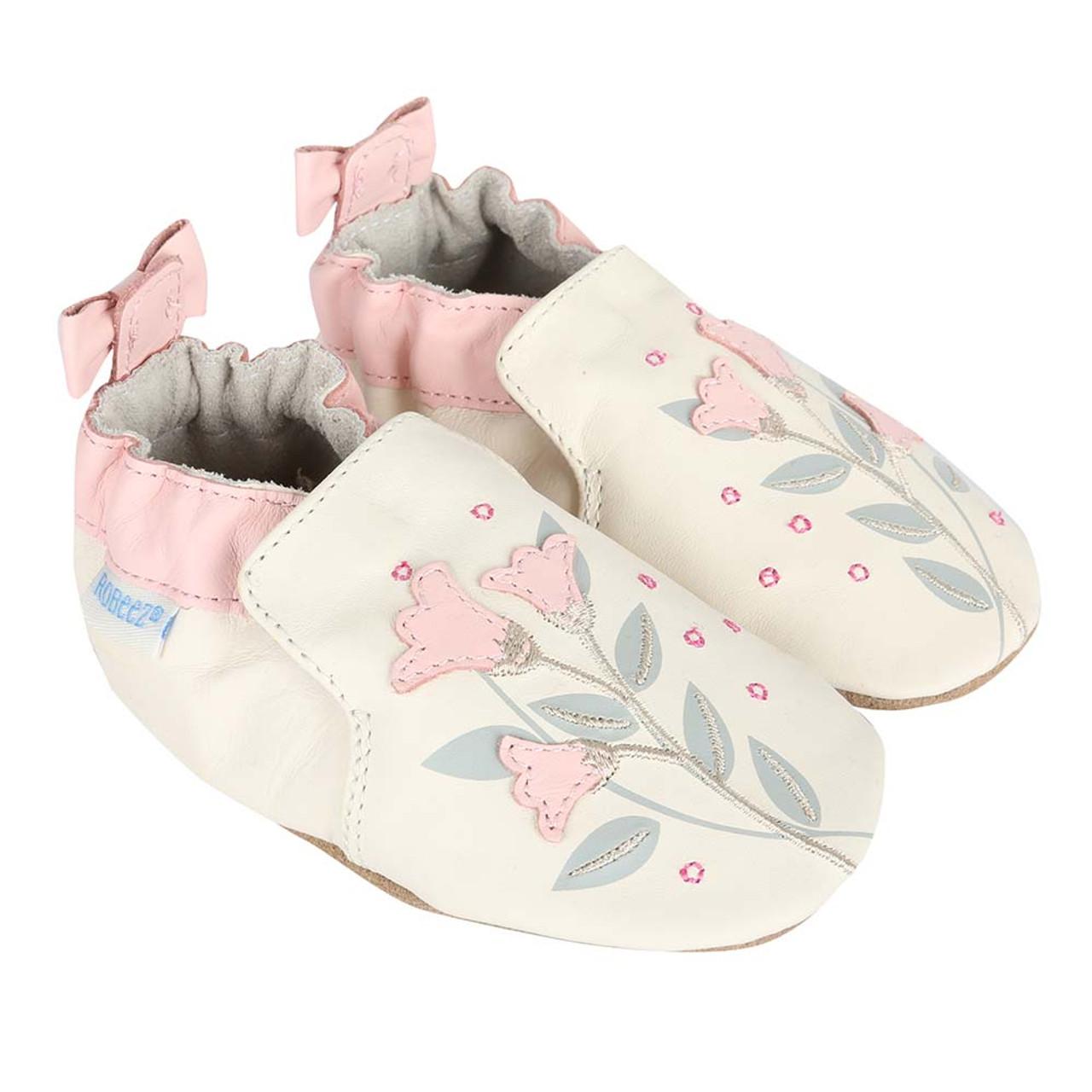 Rosealean Soft Soles Baby Shoes Robeez