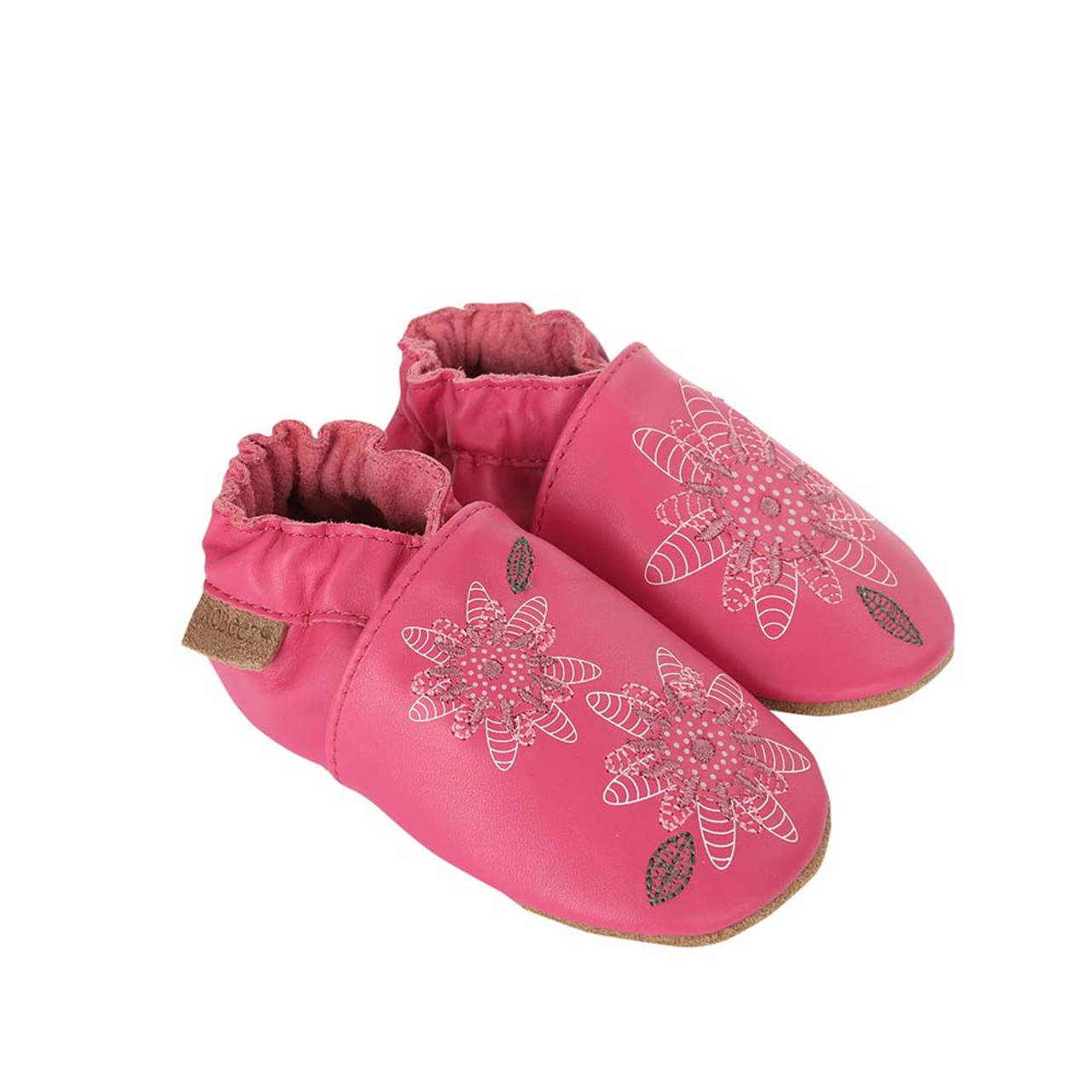 Baby Shoes Fiona Flower Soft Soles Girls 0 2 Years Robeez