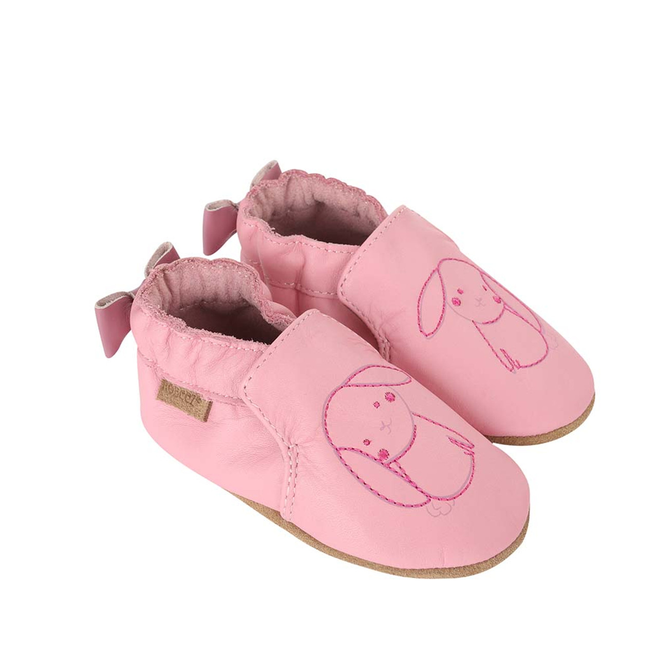 Robeez Wildflowers Crib Shoe(Infant/Toddler Girls') -Pastel Pink Store Cheap Price 2018 Online 6dYiOF