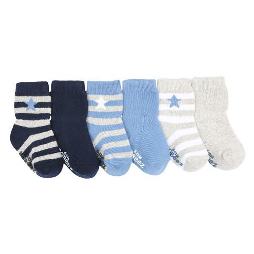 Rugby Star Baby Socks 6 Pack Robeez