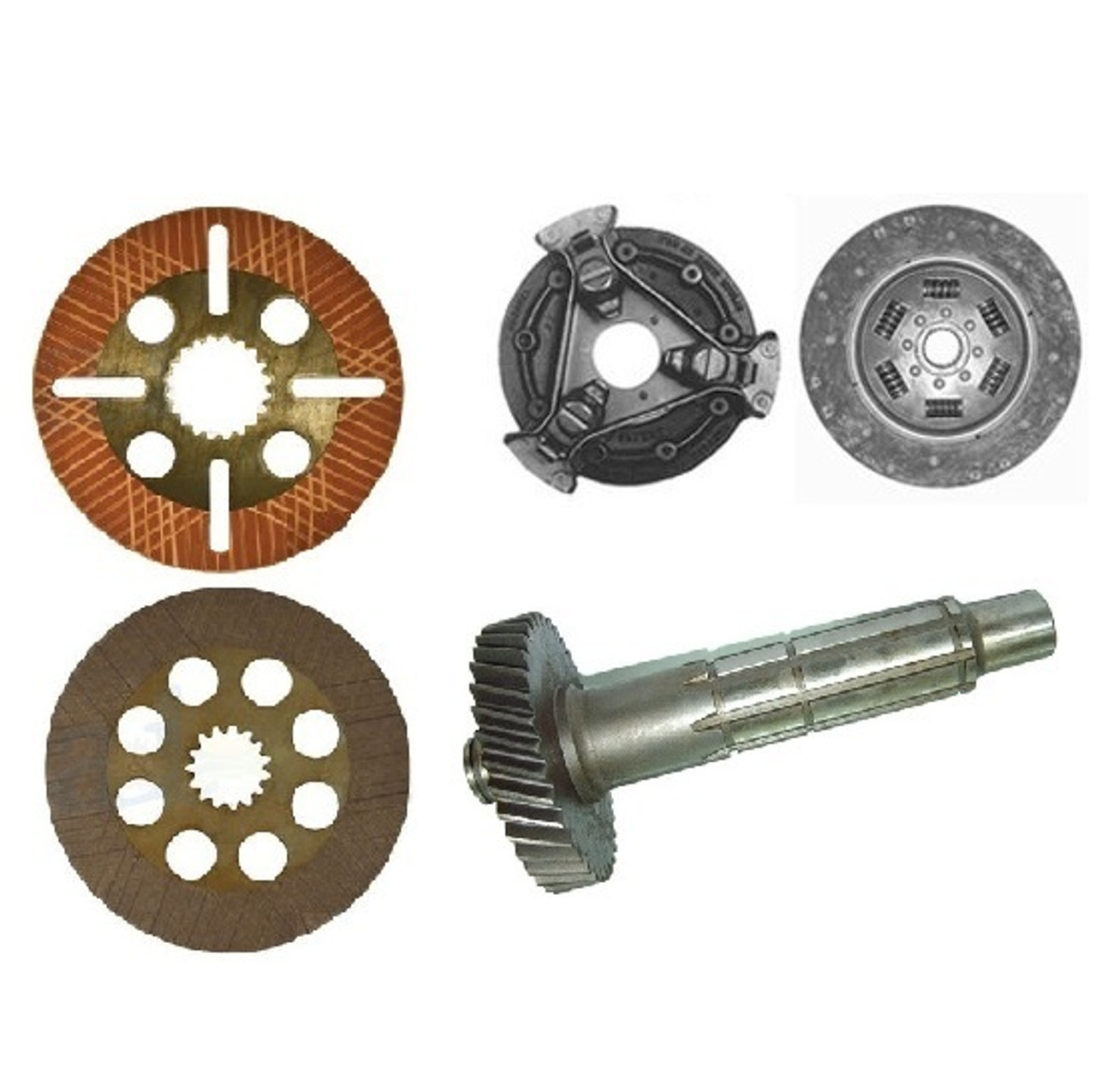 Transmission, Clutch, and Brakes