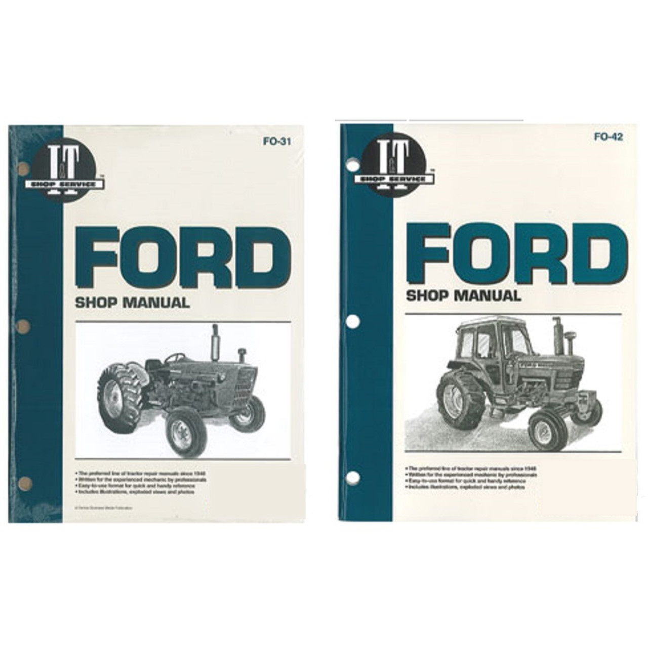 Used Ford Parts Backhoe 7740 Tractor Wiring Harness Kits Repair Manual