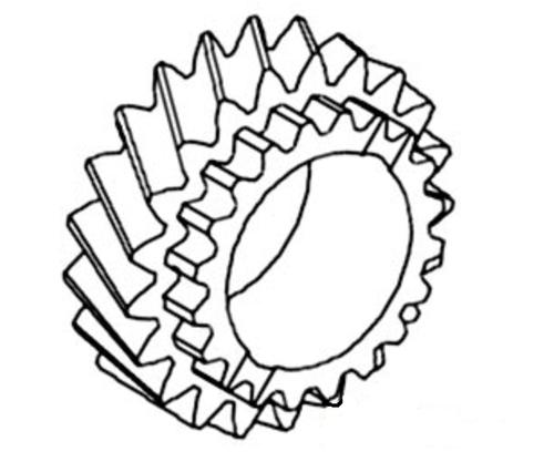 Gear (21 teeth) -- T21981