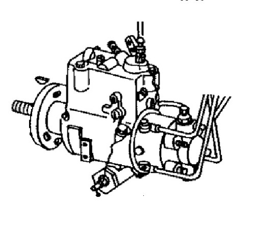 Fuel Injection Pump(We will need the tag numbers off of your pump) -- JD-4219-IP