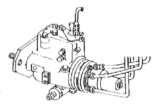 Fuel Injection Pump(We will need the tag numbers off of your pump) -- JD-4045-IP
