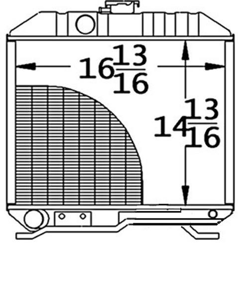 Radiator -- 17331-72060