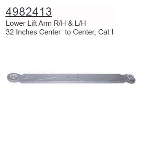Lower Lift Arm  -- 4982413