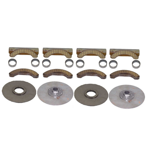 Dresser Brake Shoe Kit With Discs -- DBSKIT-2