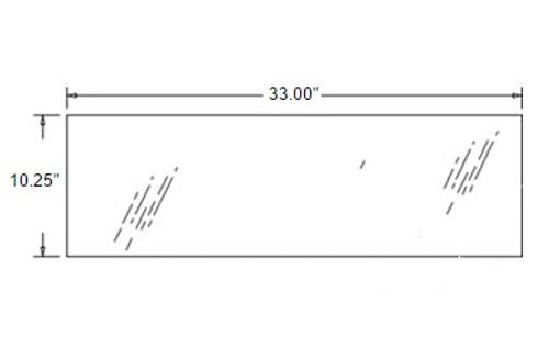 Rear Lower Glass -- 3A751-70550