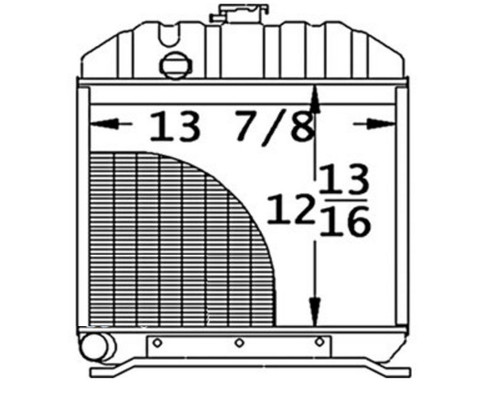 Radiator -- 15201-72060
