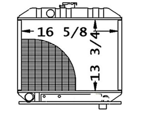 Radiator -- 15301-72060