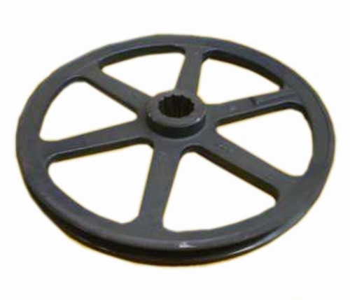 "King Kutter Main Pulley (Single Groove) (12"" Diameter) (6' Mower) -- 165112"