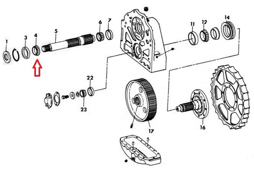 International Dresser Dozer Final Drive Parts