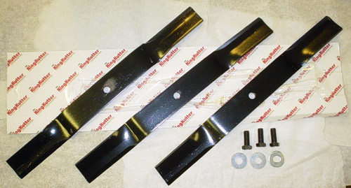 "King Kutter Mower Blade Set with Bolts (24"" Blade with 1/2"" Hole) -- 502324"