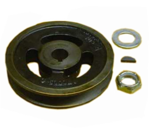 King Kutter Mower Spindle Pulley (Single Groove) -- 502313