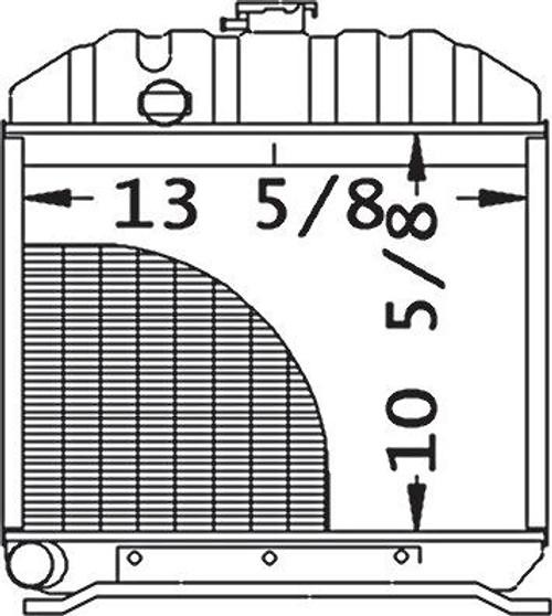 Radiator  -- 15221-72060