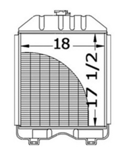 Radiator  -- 15453-72060