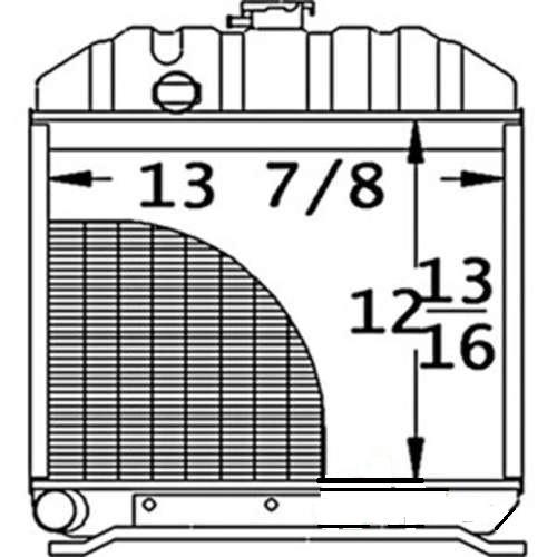 Radiator  -- 15575-72060