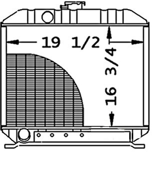 Radiator  -- 15612-72060