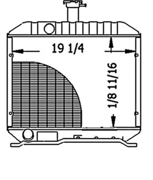 Radiator -- 15621-72063