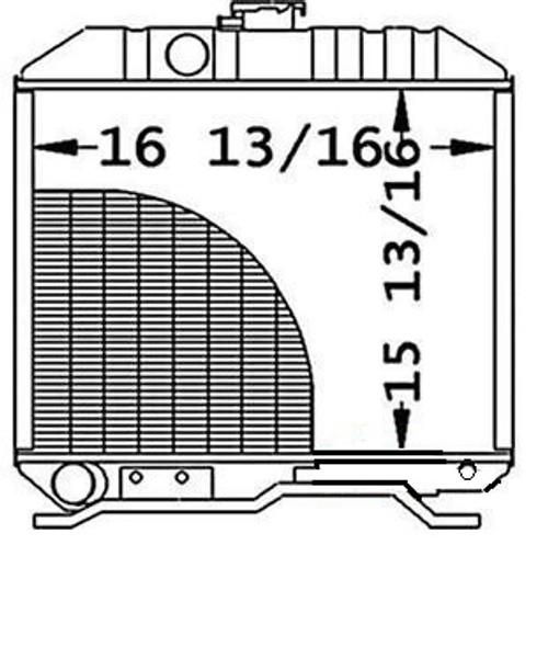Radiator  -- 16743-72060