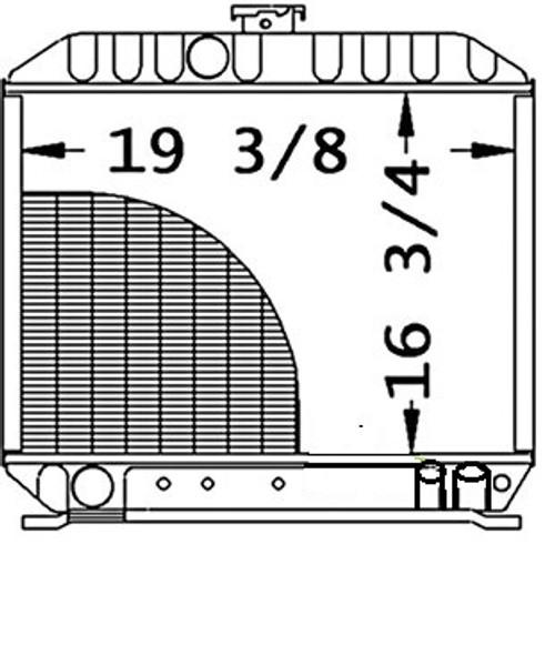 Radiator -- 17381-72060