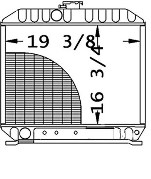 Radiator -- 17393-72062